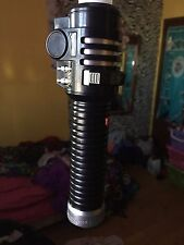 blue and Red Star wars light saber