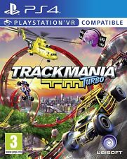 PS4 PlayStation 4 Trackmania Turbo PSVR Compatible Brand New Sealed Game