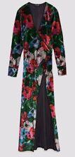 Zara AW17 Woman Printed Velvet Kimono Size S NWT 5580/321