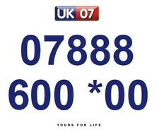 07888 600 *00 Numbers - Gold Easy Memorable Business Platinum VIP Mobile Numbers