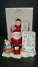 Hallmark Keepsake 2007 Countdown to Christmas South Pole Pals Calendar T14