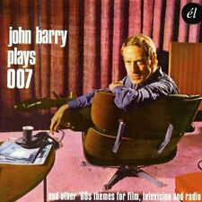 John Barry Plays 007 & Other 60s Themes For Film & Television (2016)  CD  NEW