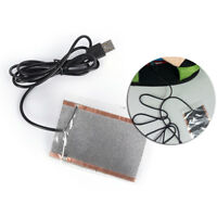 1PC portable usb heating sheet warm hand mouse pad carbPIJ