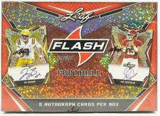 ONE BOX 2020 LEAF FLASH FOOTBALL HOBBY BOX PULLED FROM A SEALED CASE