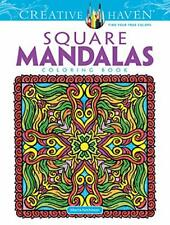 Square Mandalas (Creative Haven Coloring Books)-Alberta Hutchinson