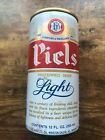 Vintage Piels Light 12 Oz Beer Can Top Opened Stroh Brewing Company