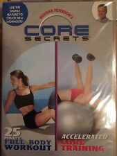 Exercise DVD Core Secrets Workout Full Body and Core Training Sealed New Free