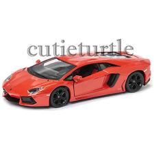 MAISTO Lamborghini Aventador LP 700-4 1:24 Diecast Model Car 34210 Orange