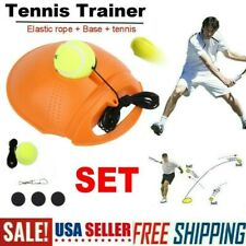 Solo Tennis Trainer Training Tool Exercise Ball Sport Self-study Rebound Ball Us