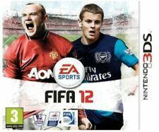 FIFA 12 (Nintendo 3DS, 2011) PAL Excellent Condition Rare Complete J2L