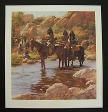 "Howard Terpning Limited Edition Print ""Soldier Hat"" Excellent Condition"