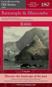 Barnstaple and Ilfracombe.Cassini Publish.Ltd.Old Series(Sht map,folded,2007)NEW