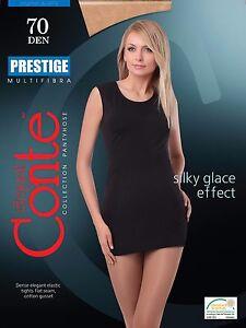 CONTE Elegant Women's Ladies  High Quality Tights PRESTIGE 70 Den S M L XL