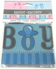"""Gender Reveal 12' X 5"""" Blue and Pink  Banner  Boy or Girl????"""