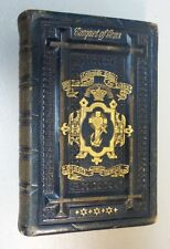 "Nice 19th C. Book ""The Casquet Of Gems, Choice Selection From English Poets"