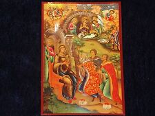 ORTHODOX RUSSIAN ICON  NATIVITY OF CHRIST