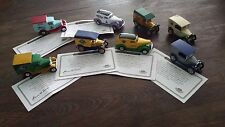 Matchbox Great American Micro Breweries Collection 8 Die cast Trucks Orig, Box