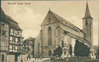 Ansichtskarte Mosbach Baden Kirche 1925  (Nr.9102)