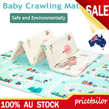 Foldable Baby Kids Play Mat Crawling Picnic Alphabet Floor Rug 200*180*1.0cm XPE