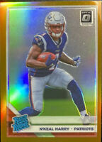 🔥 2019 Donruss Optic N'KEAL HARRY Rated Rookie Bronze Holo Prizm RC Refractor