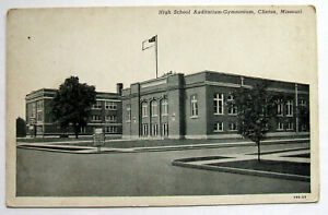 Postcard - HIGH SCHOOL AUDITORIUM-GYMNASIUM, CLINTON, MISSOURI, USA (USA8-16)