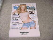 Jessica Alba Rollingstone poster by funky 22 x 32 inches AS IS SEE ADD