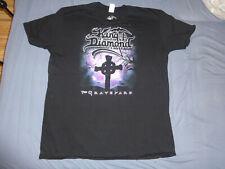 KING DIAMOND -Graveyard T-Shirt Shirt Official Mercyful Fate Black heavy Metal