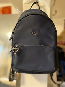 GUESS HOOPER BACKPACK NAVY BLUE MEDIUM/LARGE