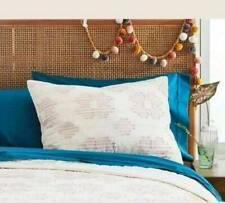 OpalHouse Target Cream Pink / Blush Eyelash Pillow Sham King Cotton 1 New