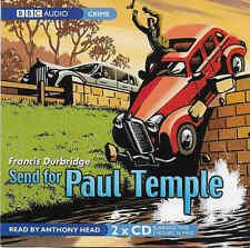 Francis Durbridge SEND FOR PAUL TEMPLE CD Audio Book Abridged