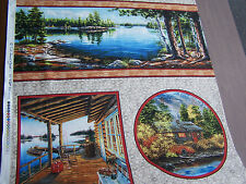 VIP Exclusive Lake House  quilt sew fabric 45392 AB