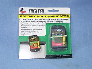 VEXILAR MARINE D-130 12 Volt Digital Battery Status Indicator