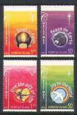 Norfolk Island 2003 Christmas/Bird/Earth 4v set n21053