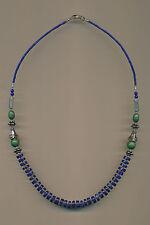 Collier cadena tibetanos turquesa lapis lazuli lapis lazuli 156b