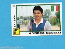 SUPERSPORT 1988-PANINI 88-Figurina n.131- BENELLI - ITALIA -TIRO-Rec