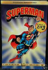 2 x 3 20 Minute G Animated Adventure Superman Titles on 1 DVD Kid Full Screen