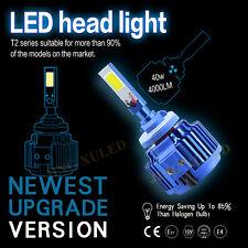 1x H4 9003 HB3 Hi/Lo Beam 80W 8000LM Car Motorcycle LED Headlight  6000K Bulbs
