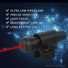 Schwarz Militärische liefert Laserpointer Lazer Light Visible Beam Red Geschenk