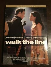 WALK THE LINE Joaquin Phoenix Reese Witherspoon NEW & SEALED DVD R1