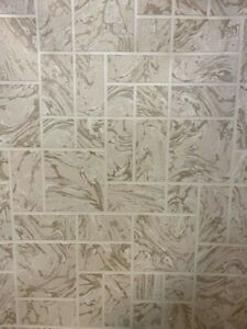 HOLDEN DÉCOR marble tile cream beige 89250  tiling on a roll washable