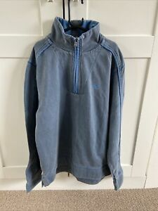 FAT FACE MENS BLUE SWEATSHIRT SIZE SMALL