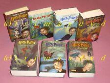 Harry Potter 1-7 _ Gebundene Ausgaben _ Harry Potter 1 2 3 4 5 6 7