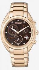 Citizen Eco-Drive Diamond Chronograph Ladies Watch FB1395-50W