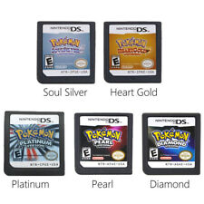 Pokemon SoulSilver HeartGold Platinum Game Card For Nintendo 3DS DS Lite DSi NDS