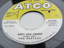 The Beatles Original 1964 Usa Atco 45 Aint ella Dulce