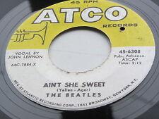THE BEATLES  ORIGINAL 1964 USA  ATCO  45   AINT SHE SWEET