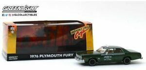 GREENLIGHT 86566 PLYMOUTH FURY CHECKER CAB from BEVERLEY HILLS COP 1984 1:43rd