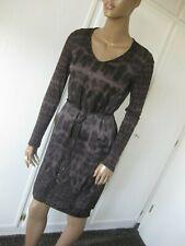 Marc Cain exclusives Kleid N2 / 36 leo Seide passt auch N1/34