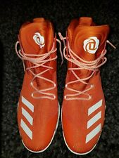7e1735611 Adidas Orange Men s adidas Derrick Rose Athletic Shoes for sale