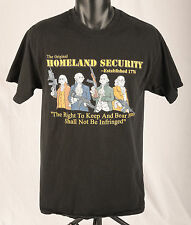 The Original Homeland Security Founding Fathers 2nd Amendment Gun Rights Sz M